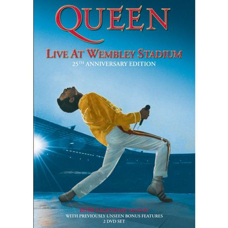 Queen - Live At Wembley Stadium (25th Anniversary Edition) (2-Disc) (Music DVD)