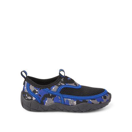b04b232782cb Athletic Works Toddler Boys  Printed Aqua Shoes br