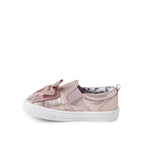 George Toddler Girls' Bow Slip On Sneakers - image 3 of 4