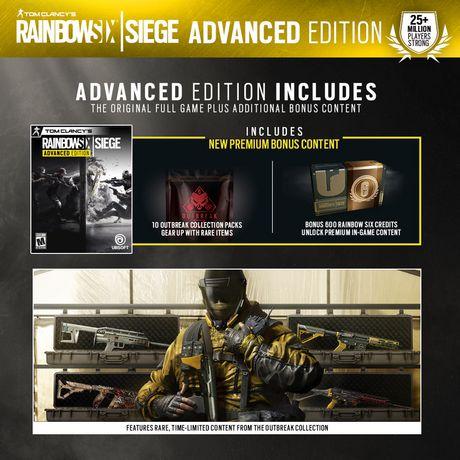 Ubisoft Tom Clancy's Rainbow Six: Siege Advanced Edition Xbox One Game - image 6 of 6