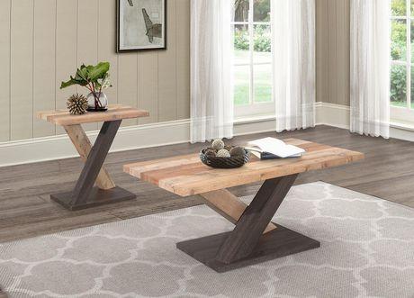 Topline Home Furnishings Two-tone Coffee Table - image 2 of 2