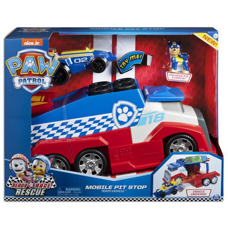 PAW Patrol, Ready, Race, Rescue Mobile Pit Stop Team Vehicle - image 2 of 9