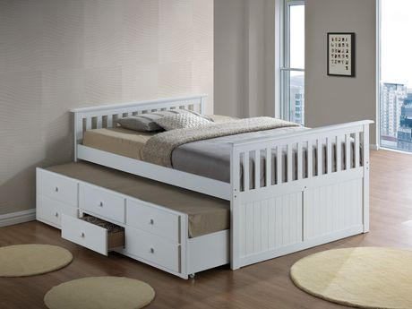 Broyhill Kids Marco Island Full Captain S Bed With Trundle