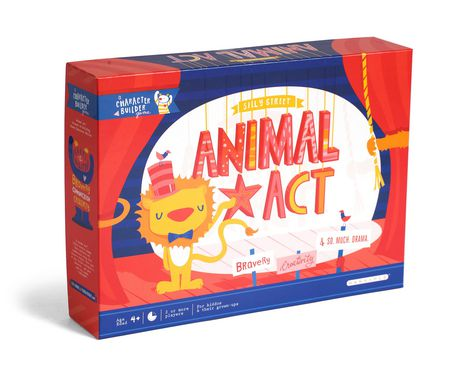 buffalo games animal act silly street character builder game
