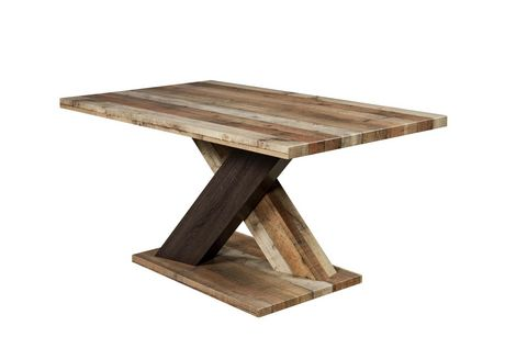 Topline Home Furnishings 5pc Rustic Style Dining Set - image 3 of 4