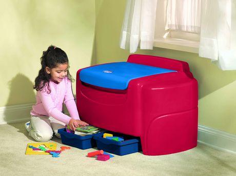 Coffre à jouet blue et rouge de Little TIkes - image 3 de 3