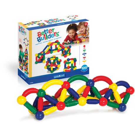 Guidecraft Better Builders Magnetic Construction Toy - image 1 of 4