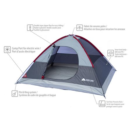 Ens. 3 pièces de camping Ozark Trail - image 2 de 2