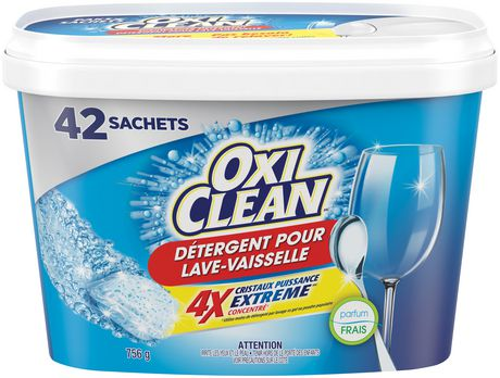 OxiClean™ Extreme Power Crystals™ Fresh Clean Dishwasher Detergent Packs - image 2 of 2
