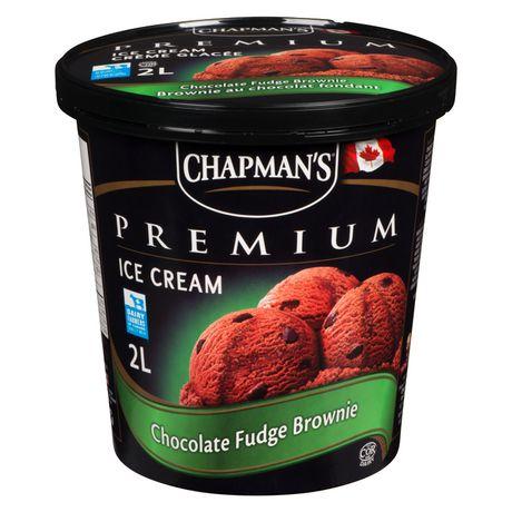 Chapman's Premium Chocolate Fudge Brownie Ice Cream - image 1 of 4
