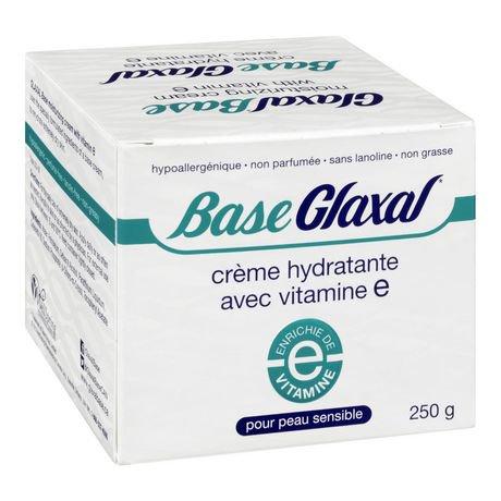 Crème hydratante Glaxal Base pour la peau sensible avec