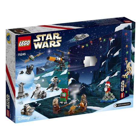 Calendrier Star Wars 2019.Lego Star Wars Advent Calendar 75245 Building Kit 280 Pieces