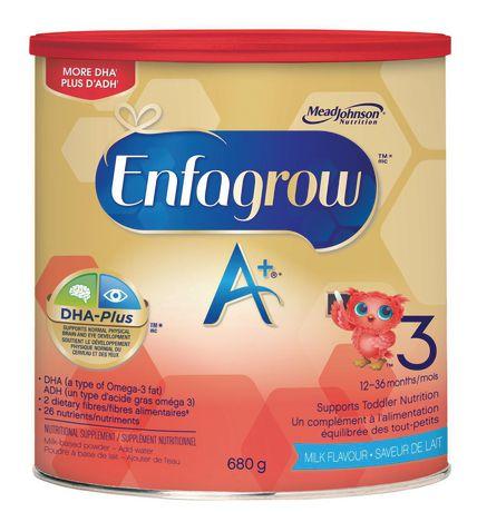 Boisson nutritionnelle Enfagrow A+®, saveur de lait, en poudre - image 2 de 4
