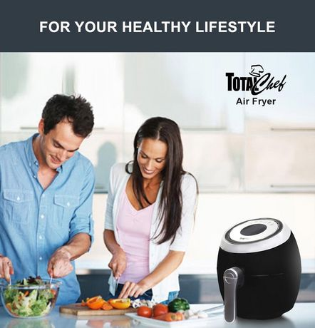 Total Chef 1500 Watts Air Fryer with Touchscreen Panel and LED Display (3.8 Quarts/3.6 Liters) - image 3 of 5