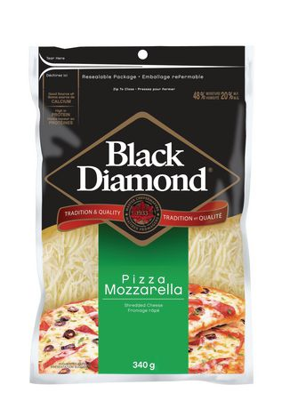 Black Diamond Shred Mozzarella 320G - image 1 of 1