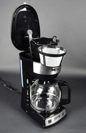 Total Chef 12-Cup Programmable Drip Coffee Maker with Glass Carafe and LCD Display - image 2 of 4
