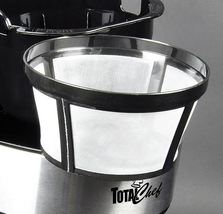 Total Chef 12-Cup Programmable Drip Coffee Maker with Glass Carafe and LCD Display - image 3 of 4