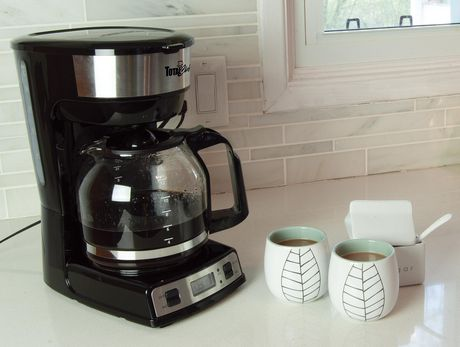 Total Chef 12-Cup Programmable Drip Coffee Maker with Glass Carafe and LCD Display - image 4 of 4