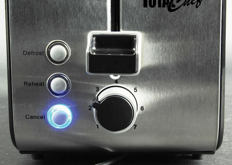 Total Chef 2-Slice Stainless Steel Toaster with Adjustable Browning Controls - image 2 of 4