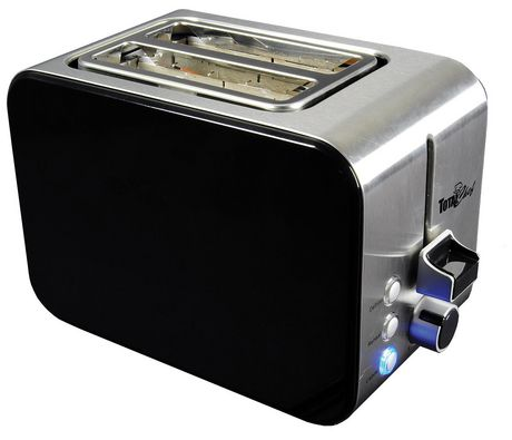 Total Chef 2-Slice Stainless Steel Toaster with Adjustable Browning Controls - image 3 of 4