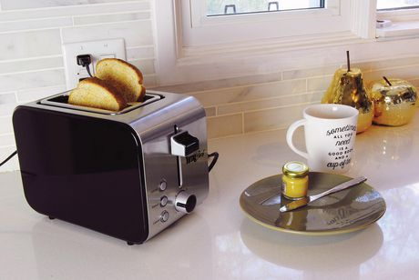 Total Chef 2-Slice Stainless Steel Toaster with Adjustable Browning Controls - image 4 of 4