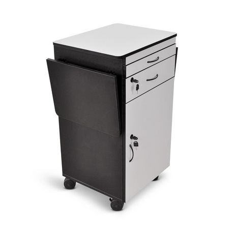 "Luxor 38"" Wood Multimedia Workstation - image 2 of 5"