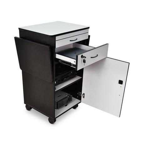 "Luxor 38"" Wood Multimedia Workstation - image 5 of 5"