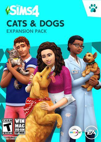The Sims 4 (EP4) Cats & Dogs (CIAB - PC/MAC - EN-ONLY) PC - image 1 de 6