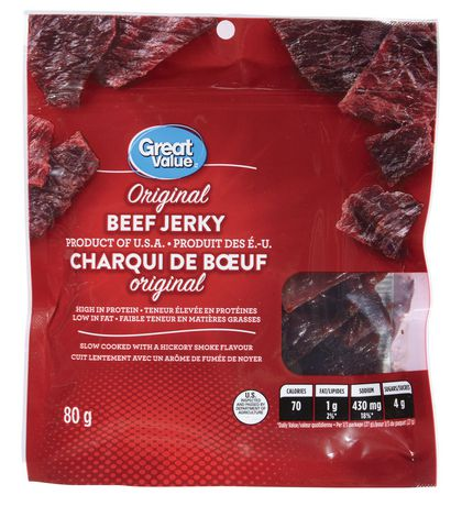 Great Value Original Beef Jerky - image 1 of 2