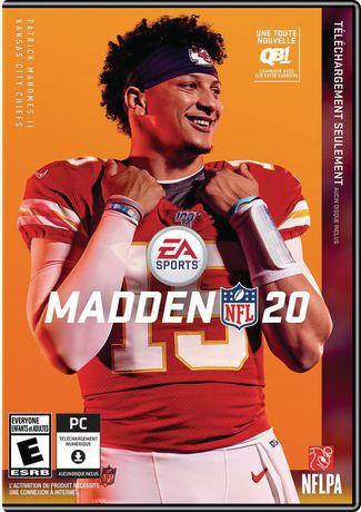Madden NFL 20 (CIAB - EN) PCWIN - image 1 of 4