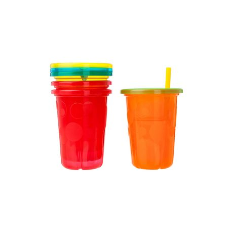 The First Years Take & Toss 10 Oz Straw Sippers - 5 Pack - image 2 of 2