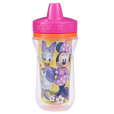 Disney Minnie Insulated Spill Proof Sippy Cup 9 Oz 2 Pack - image 2 of 3