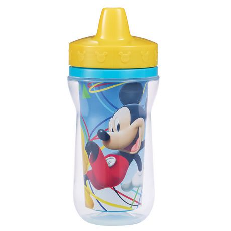 Disney Mickey Insulated Spill Proof Sippy Cup 9 Oz 2 Pack