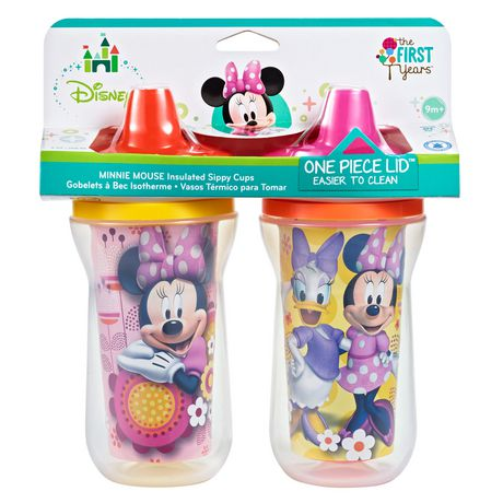 Disney Minnie Insulated Spill Proof Sippy Cup 9 Oz 2 Pack - image 1 of 3