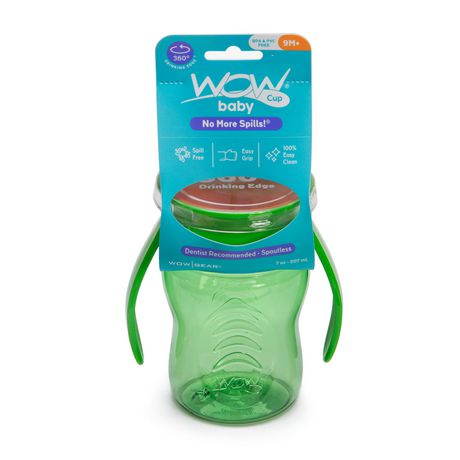 Wow Cup® Baby TRITAN® 360⁰ Spill-Free with Handles - 7oz - Green - image 2 of 2