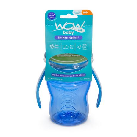 Wow Cup® Baby TRITAN® 360⁰ Spill-Free with Handles - 7oz - Blue - image 2 of 2