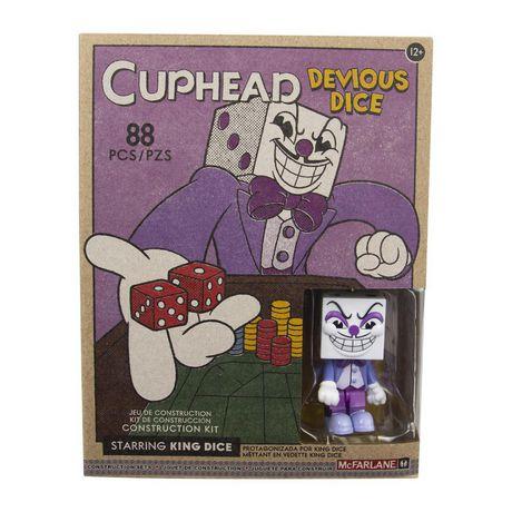 Devious dés-Cuphead petites McFarlane Construction Set