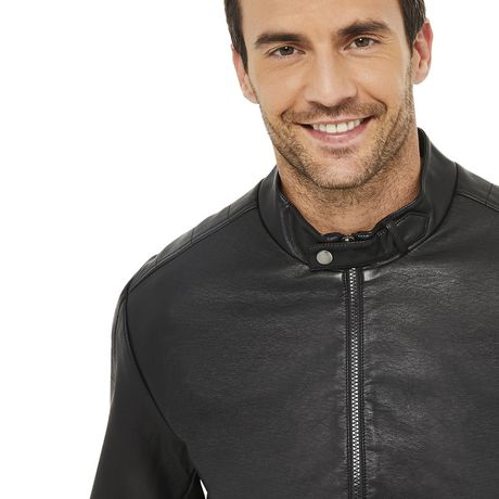 George Men's Moto Jacket - image 4 of 6