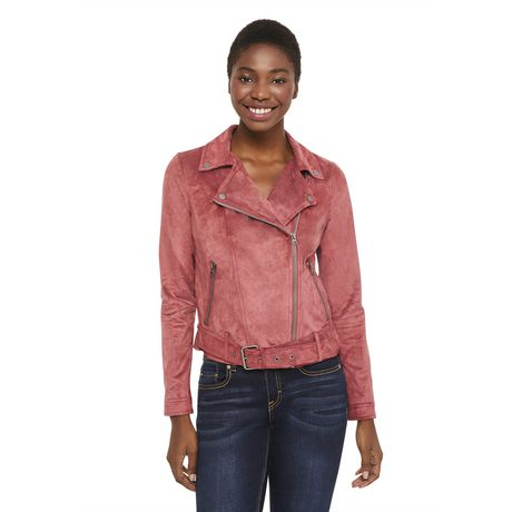 George Women's Faux Suede Jacket - image 1 of 6