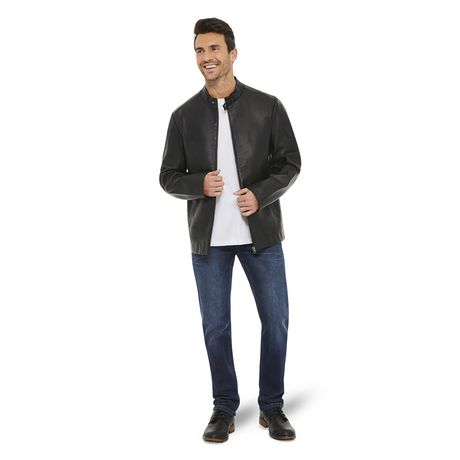 George Men's Moto Jacket - image 5 of 6