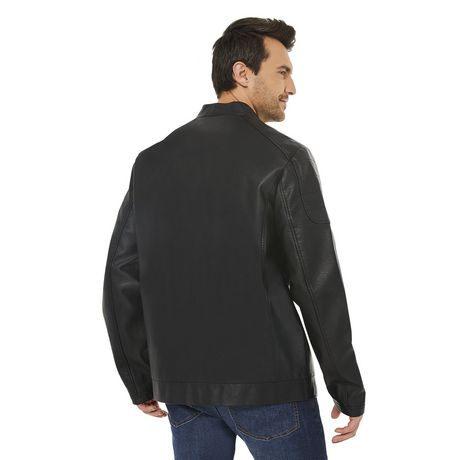 George Men's Moto Jacket - image 3 of 6