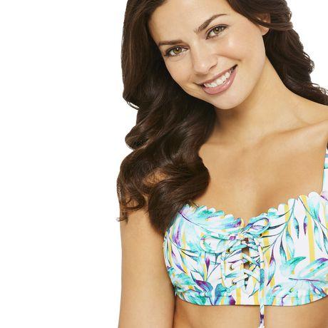 George Women's Scallop Bikini Top - image 4 of 6