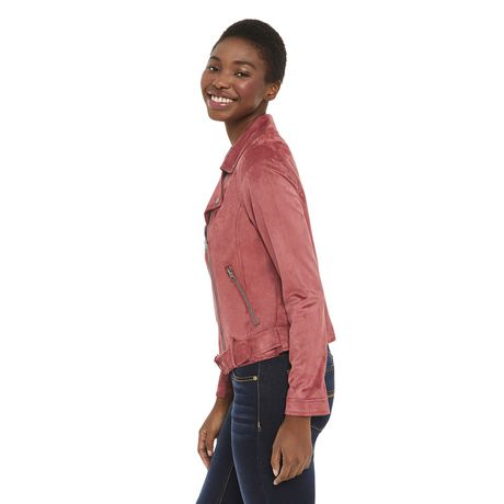 George Women's Faux Suede Jacket - image 2 of 6
