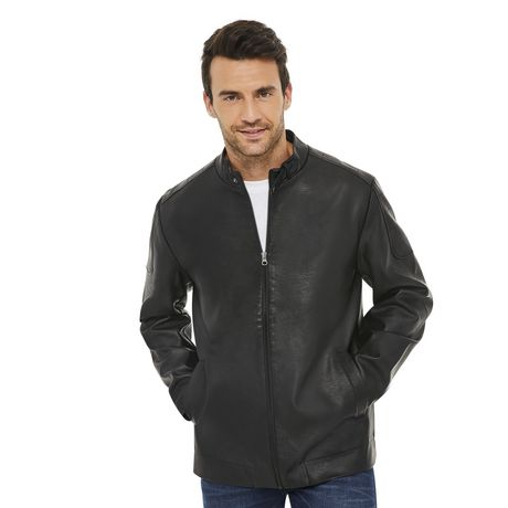 George Men's Moto Jacket - image 1 of 6