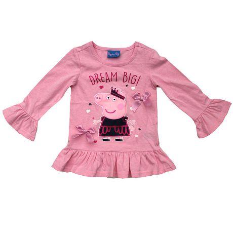 "Peppa Pig ""Dream Big"" Toddler Girls  Top - image 1 of 1"