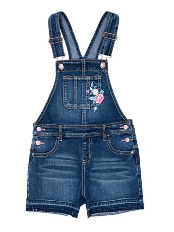 f26204ad7b Girls Denim Shortall - image 1 of 2 ...
