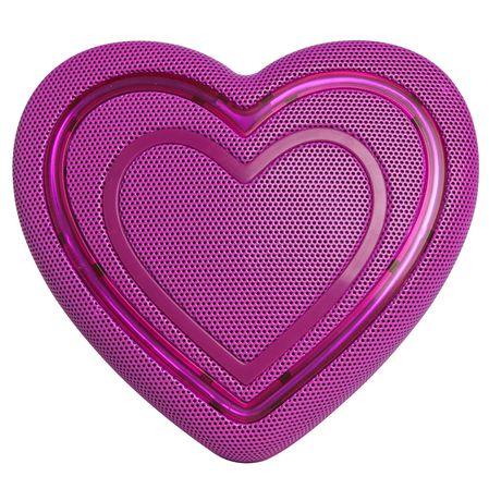 HoMedics Jamoji Heart Emoji Bluetooth Speaker - image 1 of 5