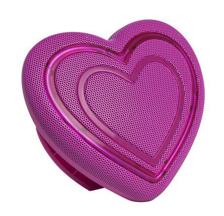HoMedics Jamoji Heart Emoji Bluetooth Speaker - image 5 of 5