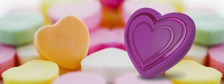 HoMedics Jamoji Heart Emoji Bluetooth Speaker - image 4 of 5