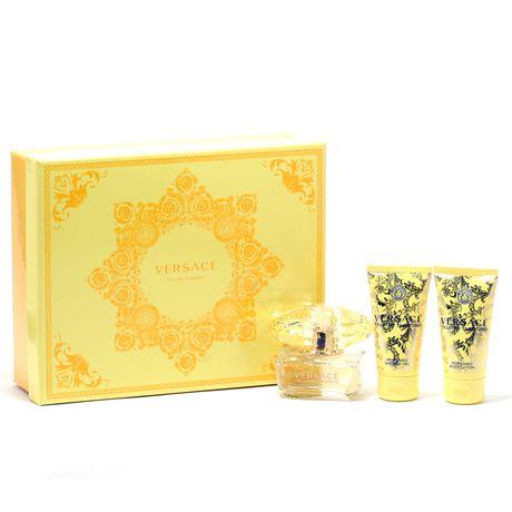 Versace Yellow Diamond Ladies - 50ML Edt Spray/50ml Shower Gel/50ml Body Lotion Set - image 1 of 1
